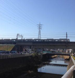 小田急線 町田駅風景